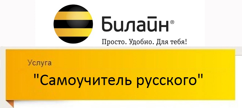 Самоучитель русского на Beeline 9545