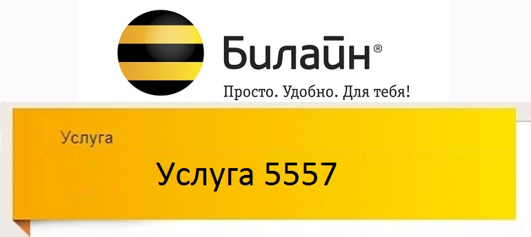 Услуга 5557